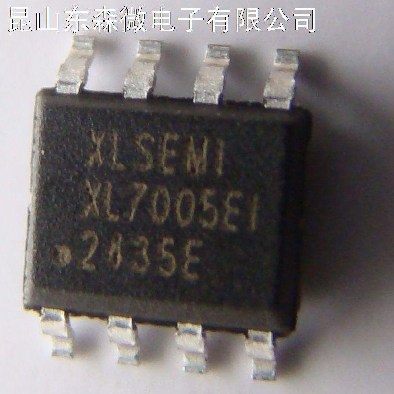 XL7005是开关降压型 DC-DC 转换芯片;固定开关频率 180KHz,可减小外部元器件尺寸。芯片具有出色的线性调整率与负载调整率,输出电压支持 1.25V~18V 间任意调节。芯片内部集成过流保护、过温保护、短路保护等可靠性模块。XL7005 为 SOP-8L 封装,采用标准外部元器件,应用灵活。另具有选择关断功能。 Input Voltage Vin:-0.